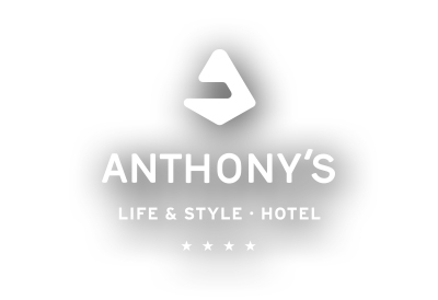 anthony 39 s life style hotel gutscheine aktionen. Black Bedroom Furniture Sets. Home Design Ideas