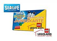 Gutschein für Die Kombi-Jahreskarte - nur jetzt 50% sparen! von LEGOLAND Discovery Centre & SEA LIFE
