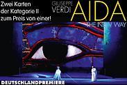 Gutschein für Deutschlandpremiere: Zwei Tickets der Kategorie II zum Preis von einem! von AIDA - THE NEW WAY