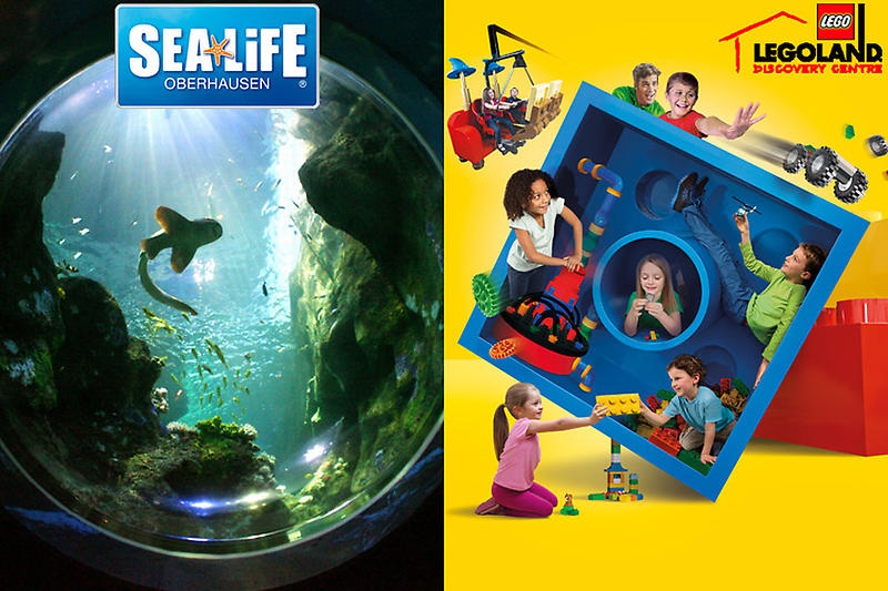 gutschein legoland discovery centre sea life 8 statt 25. Black Bedroom Furniture Sets. Home Design Ideas