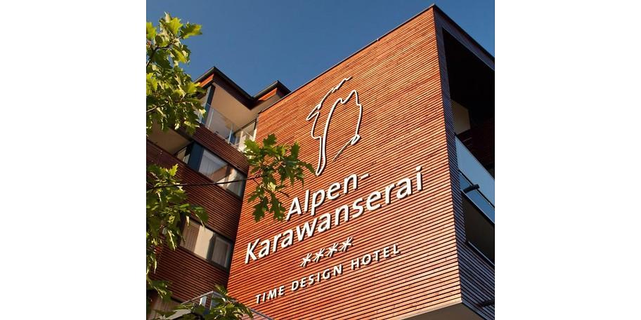 Gutschein alpen karawanserai time design hotel 800 for Designhotel alpen