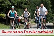 Gutschein für Mit dem Tretroller tolle Städte und Flüsse in Bayern entdecken und dabei 50% sparen! von Tretrollermax.de