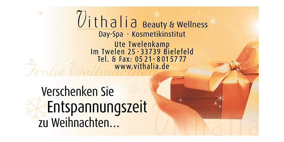 gutschein vithalia beauty wellness 25 statt 50. Black Bedroom Furniture Sets. Home Design Ideas