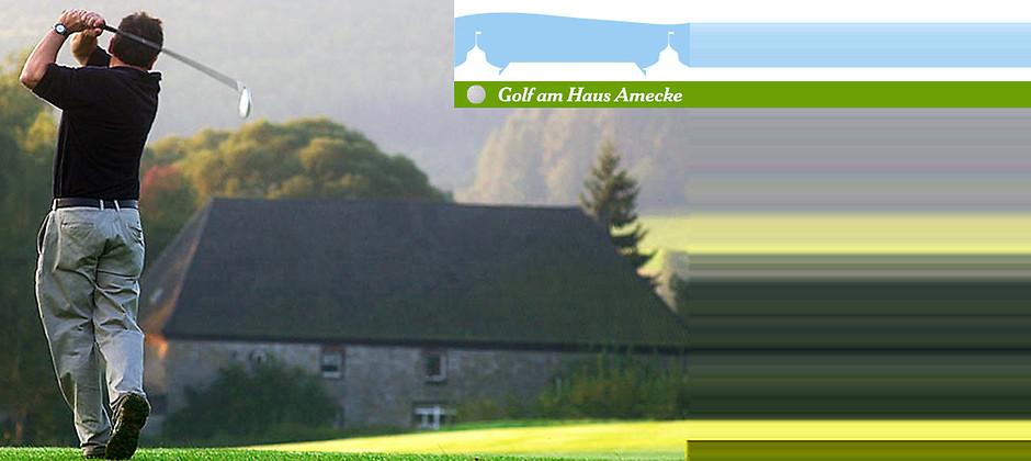 Gutschein für Ihr Tagesgreenfee für 2 Personen zum halben Preis! von Golf am Haus Amecke