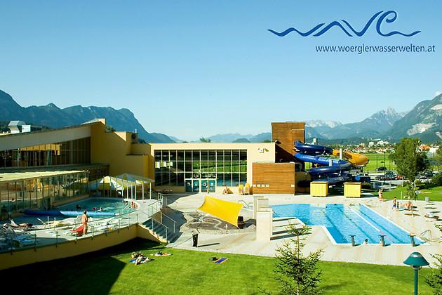 Gutschein für Das Familienerlebnis auf über 4000 Quadratmetern! von Wörgler Wasserwelt