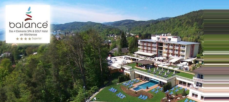 Gutschein für Ihr Kurzurlaub für zwei Personen in Kärnten zum halben Preis! von Hotel BALANCE