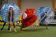 Gutschein für 1,5 Stunden Bubblesoccer für 10 Personen zum halben Preis! von Boulder- & Soccercenter Gersthofen