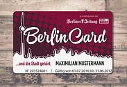 Gutschein für Sicher Dir die BerlinCard zum halben Preis! von BerlinCard