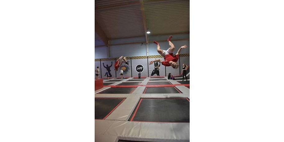 Gutschein zum halben Preis Jump Berlin Trampolinpark zwei Personen