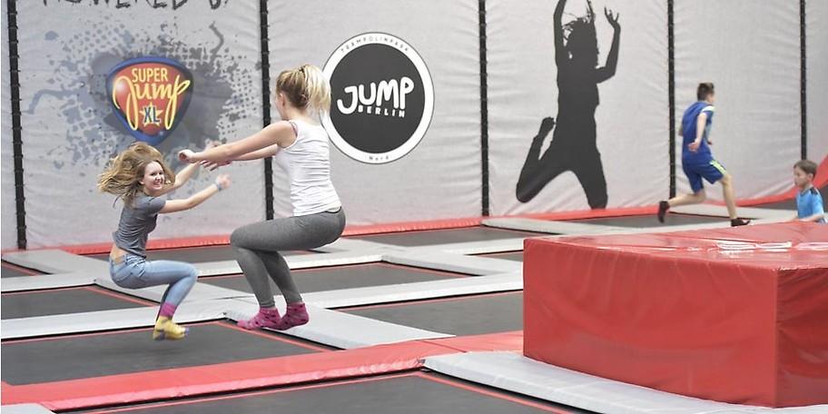 Gutschein zum halben Preis Jump Berlin Trampolinpark