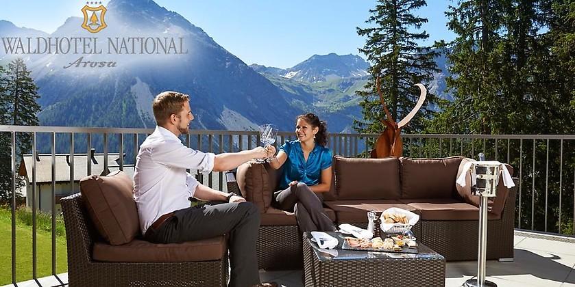 Gutschein für feels like coming home – Sommerurlaub mit 3 Übernachtungen in der Schweiz zum halben Preis! von Waldhotel National
