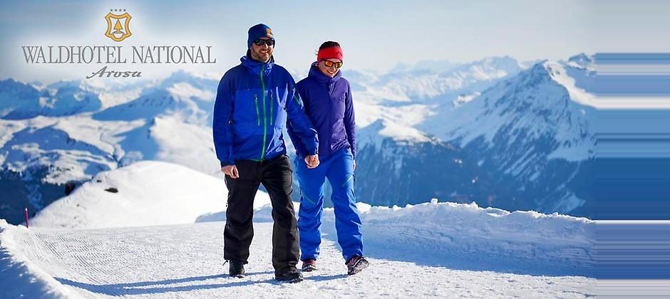 Gutschein für feels like coming home – Winterurlaub mit 2 Übernachtungen in der Schweiz zum halben Preis! von Waldhotel National