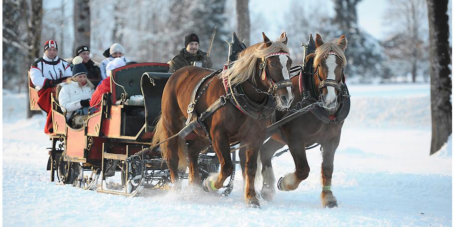 Winterspaß für die ganze Familie auf Gut Wenghof - Family Resort Werfenweng