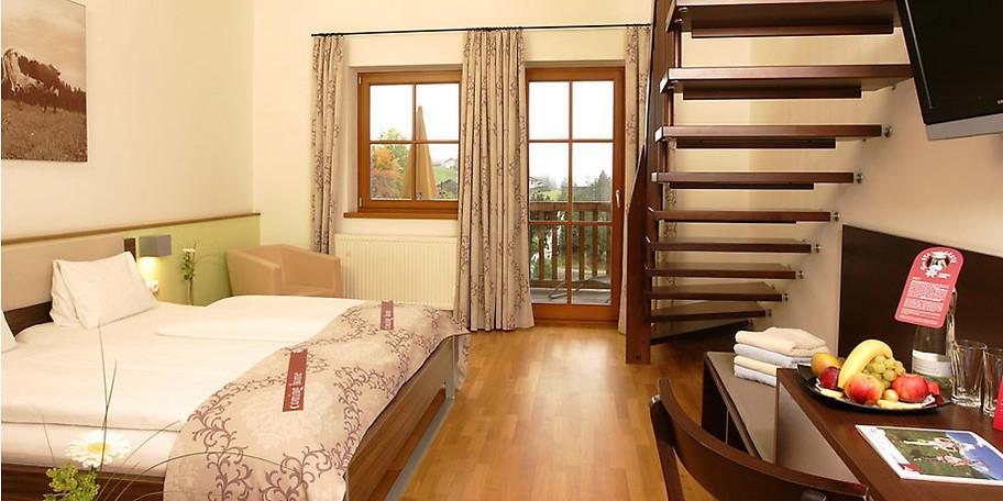 Das Familienzimmer Eiskögel auf Gut Wenghof - Family Resort Werfenweng