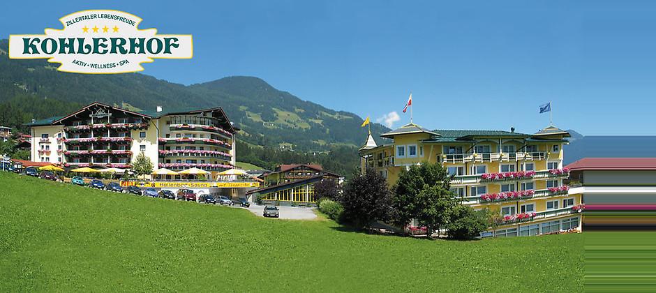 Gutschein für Ihr 4-Sterne-Kurzurlaub im wunderschönen Zillertal von Hotel Kohlerhof