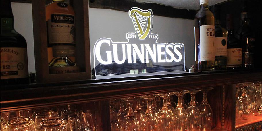 GUINNESS, eine der berühmtesten Brauereien in Irland