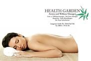 Gutschein für Aroma und Wellness Massagen von Healthgarden