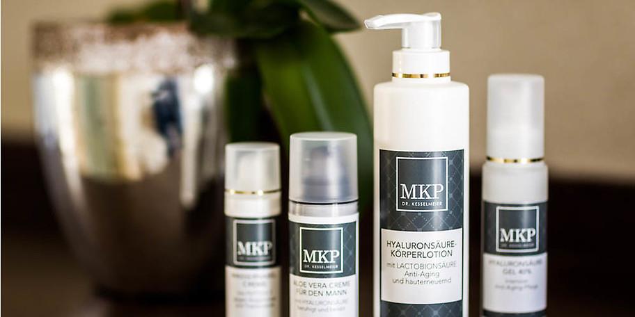 Beste Pflege für Ihre Haut mit MKP-Kosmetikprodukten