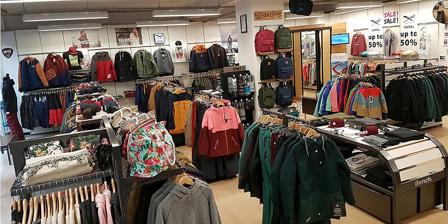 Kleide dich bei Boardmonkeys in Bielefeld für den kalten Winter ein