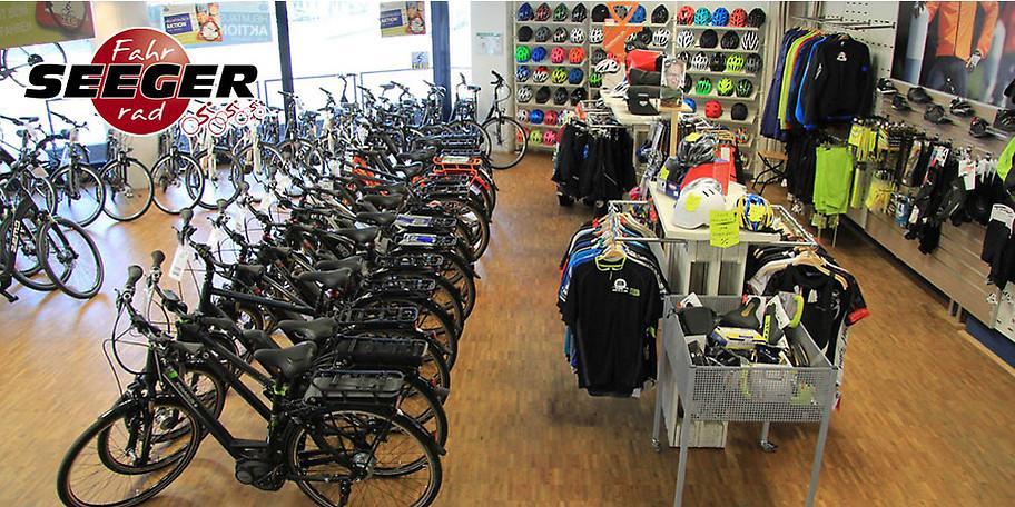 Das Team von Fahrrad Seeger in Bochum freut sich auf Ihr Kommen