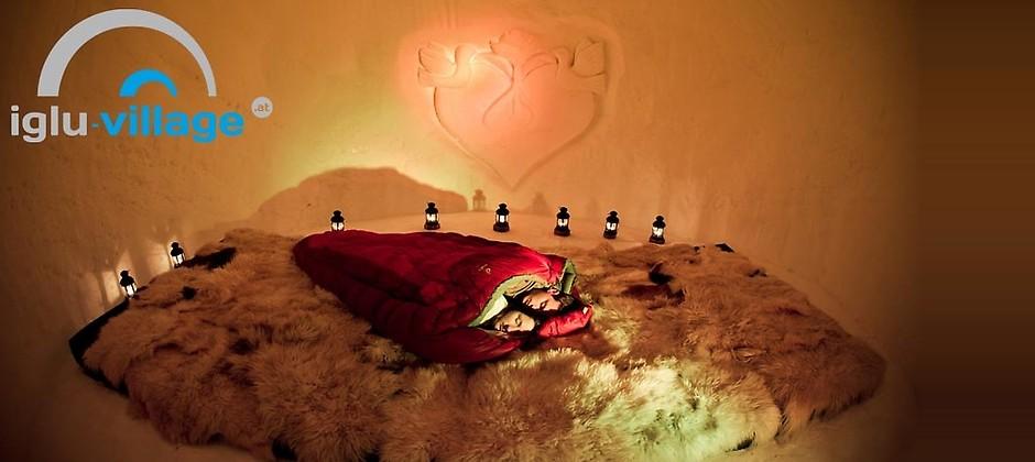 Gutschein für Jetzt buchen und 91,75€ sparen! Eine romantische Nacht zu zweit im Iglu! von IGLU VILLAGE Kühtai
