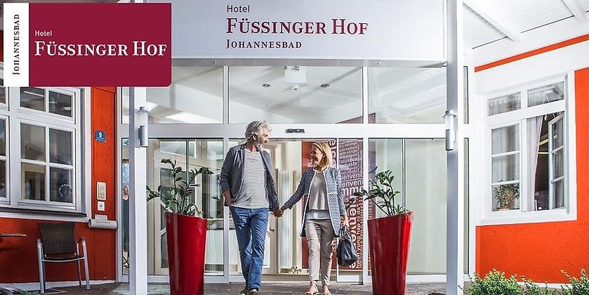 Gutschein für Thermenwoche für Zwei zum halben Preis! von Johannesbad Hotel Füssinger Hof