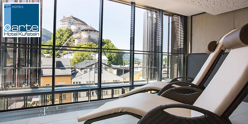 Gutschein für Ihr Kurzurlaub im wunderschönen Kufstein zum halben Preis von arte Hotel Kufstein