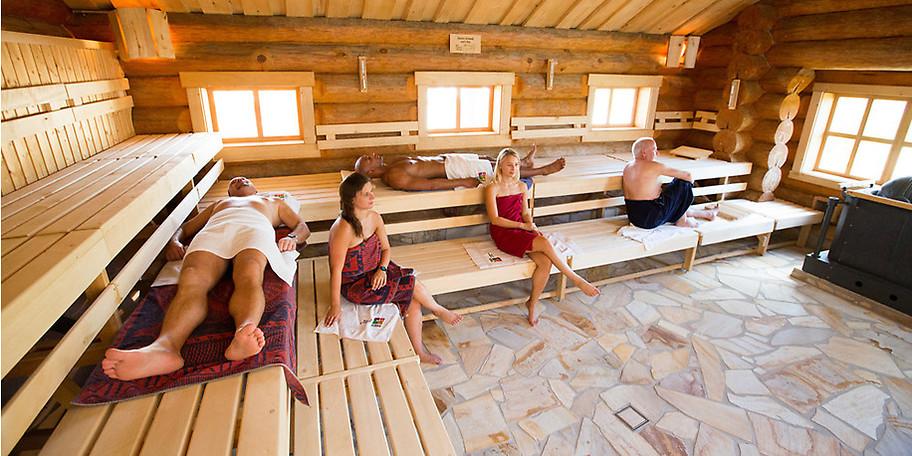 Entspannen Sie in der Saunalandschaft in der ErlebnisCity in Oranienburg