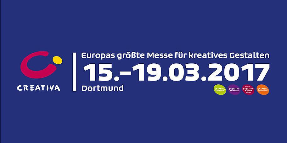 Creativa Dortmund - Europas größte Messe für kreatives Gestalten