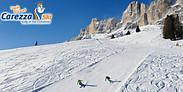 Gutschein für 2-Tagesskipass für die Südtiroler Dolomiten mit 75% Ersparnis! von Ski Area Carezza