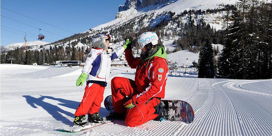 Es ist das sonnigstes und familienfreundlichste Skigebiet im Eggental