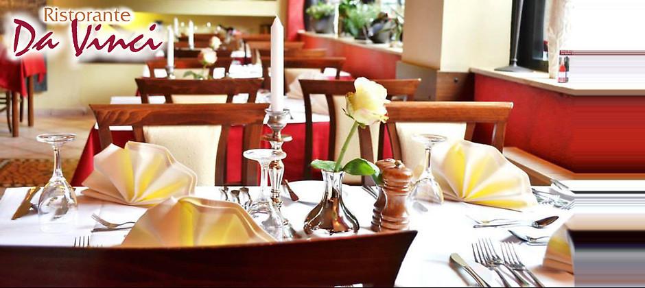 Gutschein für Traditionell italienische Küche in stilvollem Ambiente von Ristorante Da Vinci