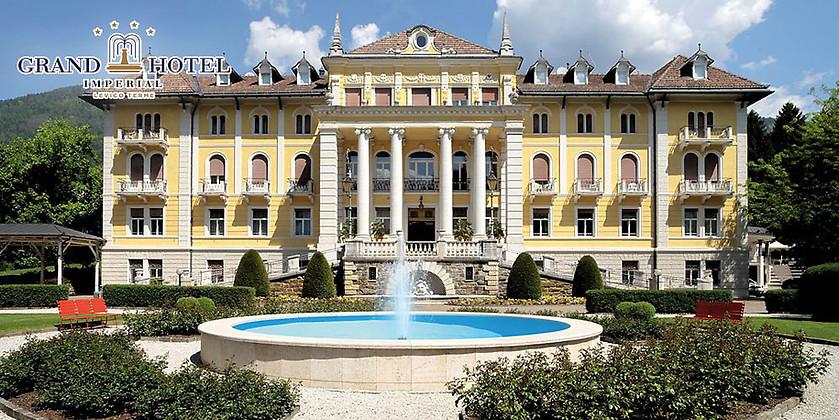 Gutschein für 5 Übernachtungen für 2 Erwachsene in Italien zum halben Preis! von Grand Hotel Imperial Levico Terme