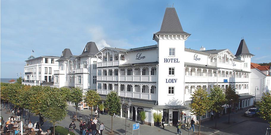 Das Loev Hotel im historischen Zentrum von Binz freut sich auf Ihr Kommen!
