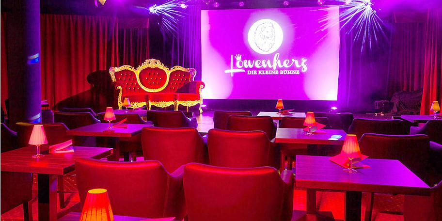 Das Löwenherz – Die kleine Bühne lädt zu einem gemütlichen Abend ein