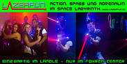 Gutschein für Action, Spaß, Sport und Adrenalin im futuristischen Space-Labyrinth! von LAZERfun im Fohren Center