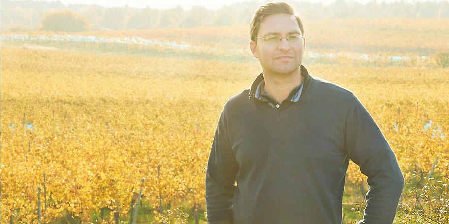 Top-Winzer Stefan Landauer freut sich auf Ihr Kommen