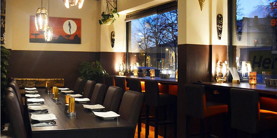 Der Mittagstisch in stilvollem Ambiente