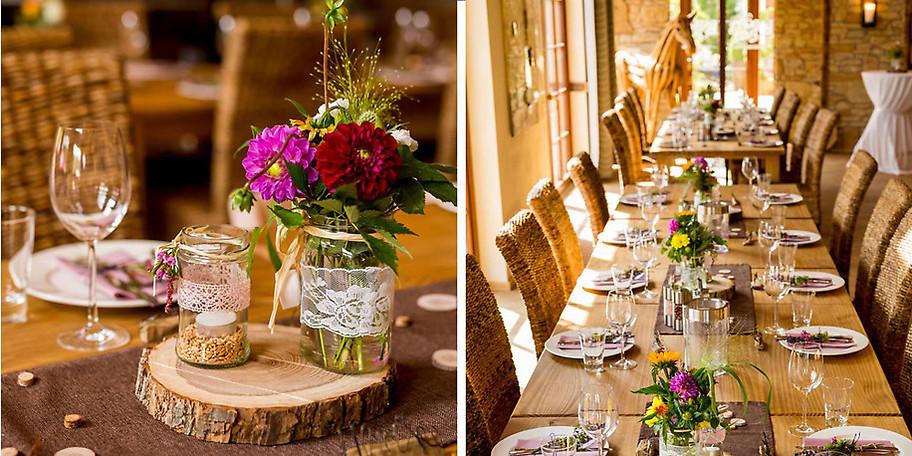 Ob Sie es lieber klassisch im festlichen Rahmen wünschen oder modern als Event, wir bieten Ihnen auf dem Landgut genügend Raum, Ihre Wünsche zu verwirklichen