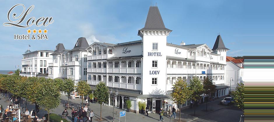 Gutschein für 4 Übernachtungen für 2 Personen im Studio mit Frühstück und mehr! von Loev Hotel Rügen