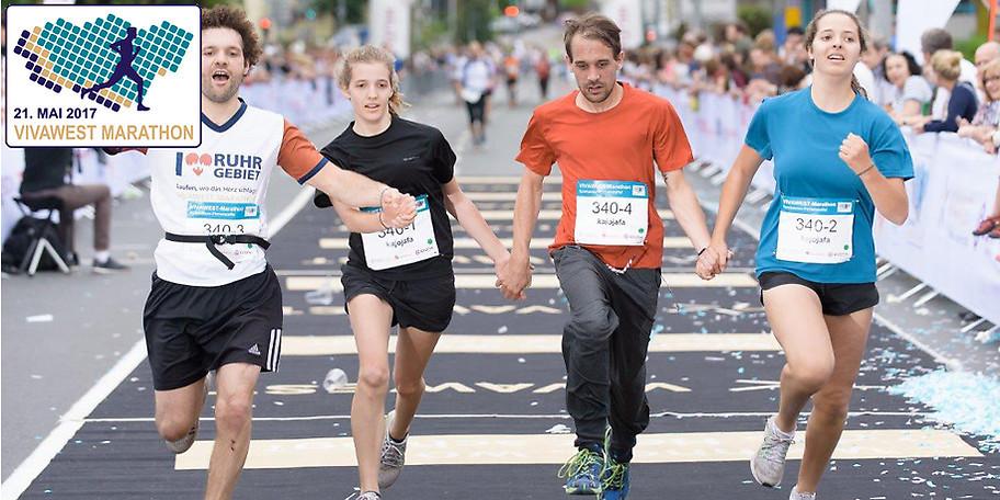 Am 21. Mai 2017 wird der VIVAWEST-Marathon die Städte Gelsenkirchen, Essen, Bottrop und Gladbeck miteinander verbinden und die Region von ihrer sportlichen Seite zeigen