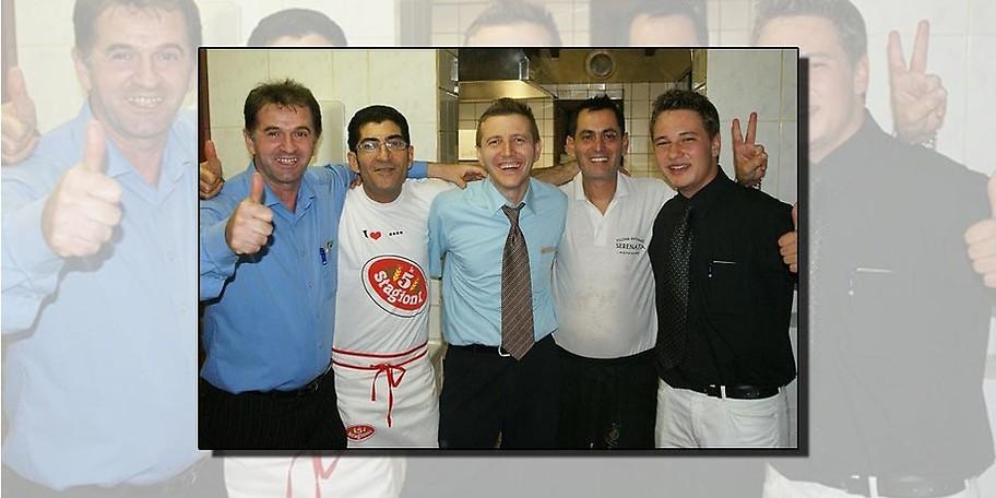 Klassisch italienische Küche in der Pizzeria Serenata