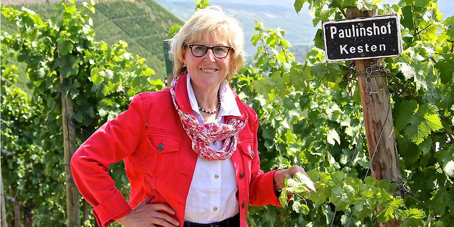 Begleitet mit Spitzen-Weinen vom Paulinshof vorgestellt und erläutert von der Wein-Akademikerin Christa Jüngling
