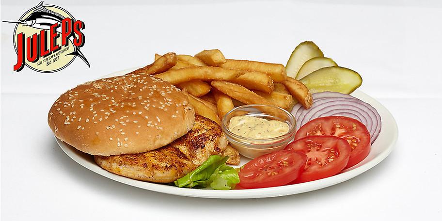 Der Schwerpunkt des Juleps liegt als American Bar & Restaurant natürlich auf nordamerikanischen Gerichten