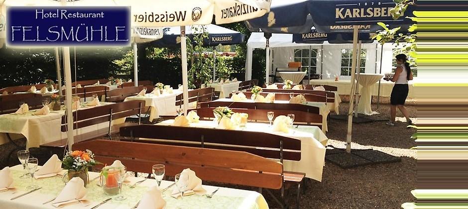 Gutschein für Keine Liebe ist so aufrichtig wie die Liebe zum Essen von Hotel-Restaurant Felsmühle