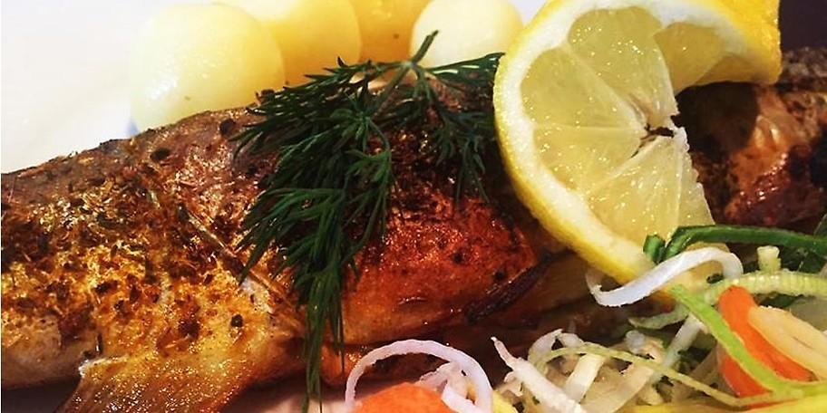 Es erwarten dich regionale Fischspeissen