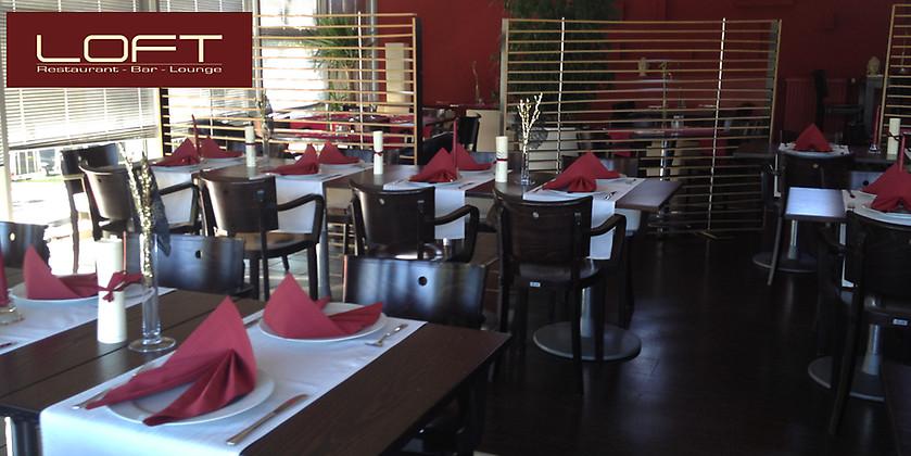 Gutschein für Gemütliche Lounge-Atmosphäre und kulinarische Highlights von LOFT