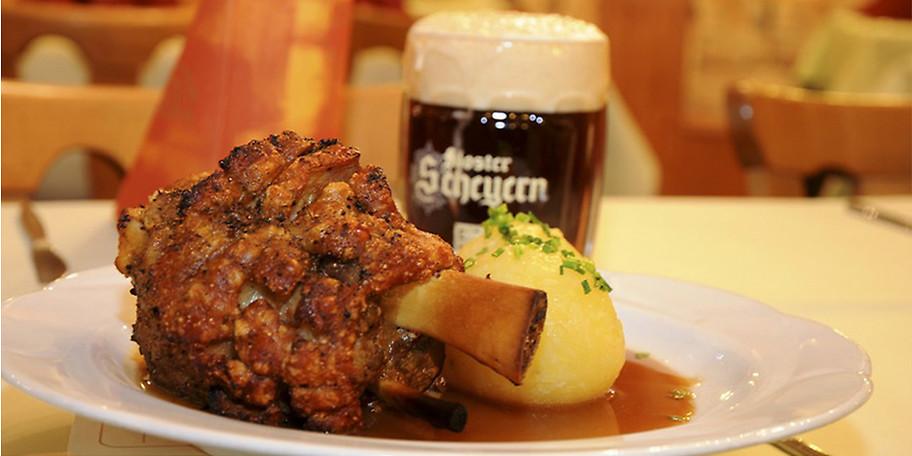 Traditionell bayerische Kost gibts im Gasthaus Jägerhaus