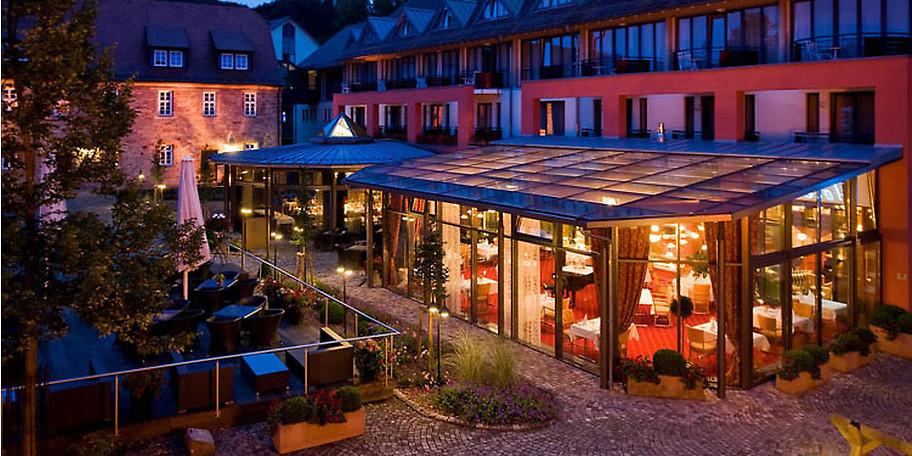 Gemütliche Atmosphäre im Schlosshotel Prinz von Hessen