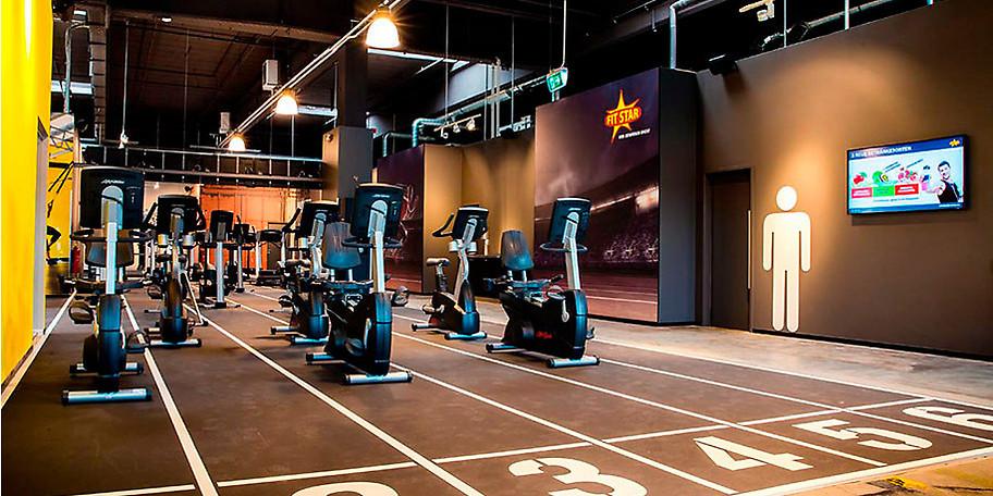 Fitnessgeräte der Weltmarktführer, Markenkurse mit echten Trainern, Power Plate Vibrationstraining und vieles mehr
